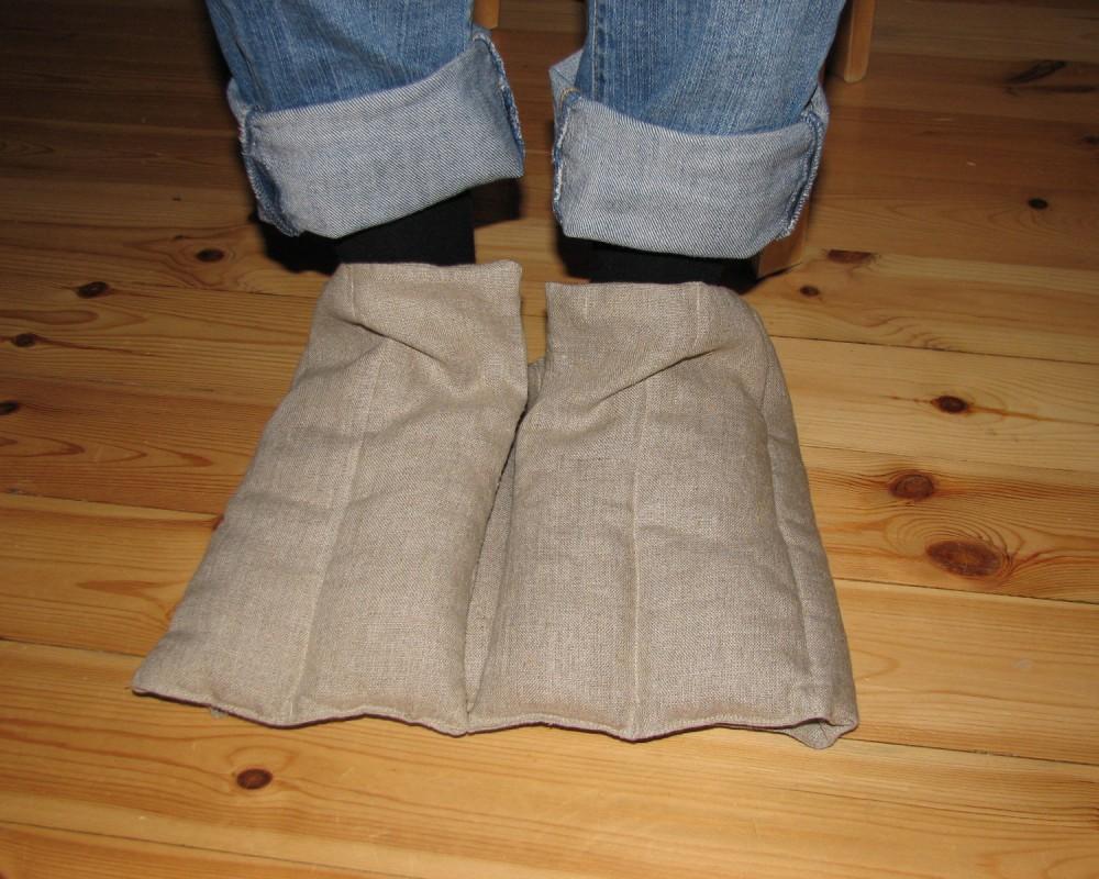 Lysts vetekudde med vikning för fot och hand, hopvikt